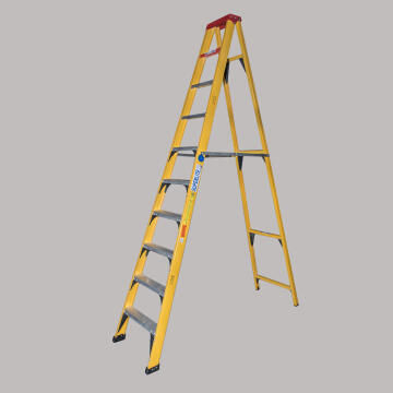 A-Frame Ladder 10 Step Fibreglass GRAVITY