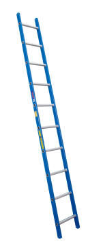 Lean-To Ladder 10 Step Fibreglass SUPERLIGHT