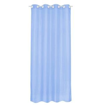 SHEER CURT POLY BLUE GLACIER 140X280CM