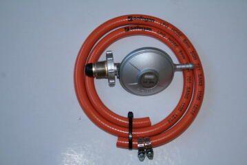 Gas kit incl bullnose regulator ,1.2m hose and 2 clamps