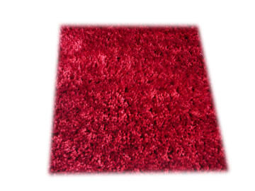 SHAG/RUG LUCCA RED 60X120CM