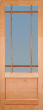 Patio Door Engineered Hardwood Montague-w813xh2032mm