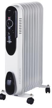 Oil heater GOLDAIR 9 fin slim design 2000w