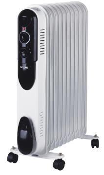 Oil heater GOLDAIR 11fin 2500W