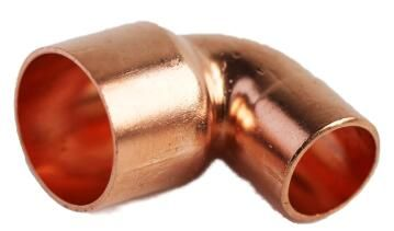 Reducing elbow copper capillary 90 degree cxc 22mm x 15mm