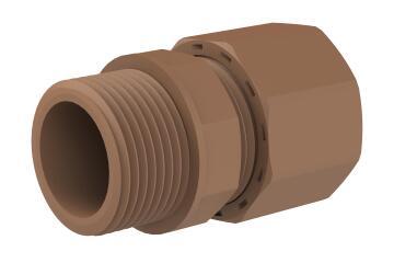 "Reducing coupler UNITWIST mi 15mm X 3/4"""