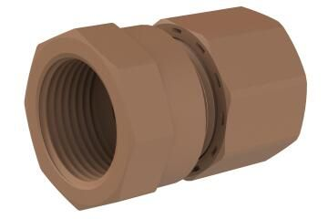 Reducing coupler UNITWIST female 15mm x 3/4""