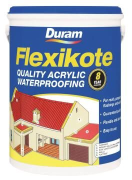 Acrylic waterproofing DURAM Flexikote Black 1L