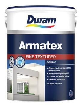 Fine textured paint DURAM Armatex White 5L