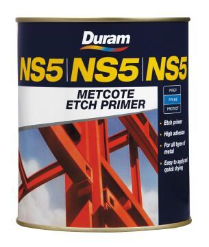 Metcote Etch Primer DURAM NS5 Red 500ml