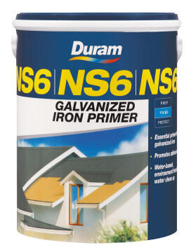 Galvanized Iron Primer DURAM NS6 Yellow 1L