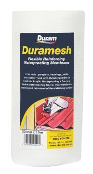 Flexible reinforcing waterproofing membrane DURAMesh 250mm X 10m