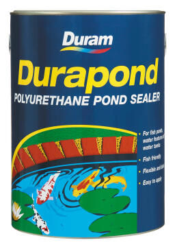 Polyurethane pond sealer DURAM Durapond Blue 5L
