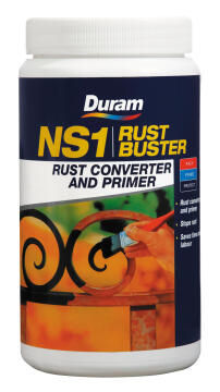 Rust converter and primer DURAM NS1 Rust Buster 1L