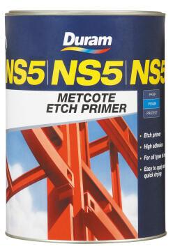 Metcote Etch Primer DURAM NS5 Black 5L