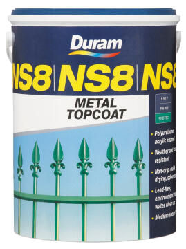 Metal Topcoat DURAM NS8 Hist Green 5L