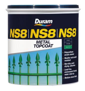 Metal Topcoat DURAM NS8 Hist Green 1L