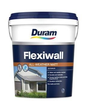 Exterior paint DURAM FlexiWall White 20L
