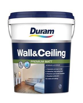 Wall & Ceiling paint DURAM Pastel Base 20L