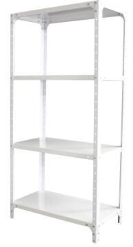 UTILITY SHELVING ELLIES WHITE