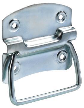 Box corner zinc-plated hettich