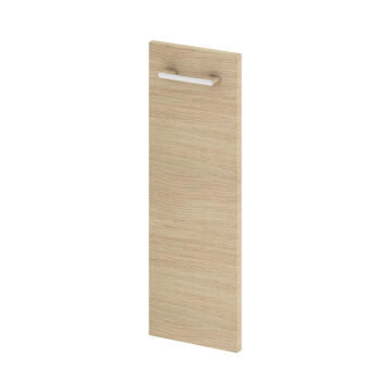 Wall hung cabinet door SENSEA Remix natural oak 20x58cm
