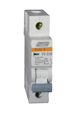 Circuit breaker DIN rail 10Amp MAJOR TECH