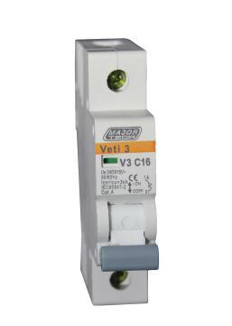 Circuit breaker DIN rail 16Amp MAJOR TECH