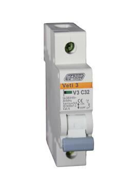Circuit breaker DIN rail 32Amp MAJOR TECH