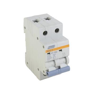 Circuit breaker DIN rail 63Amp MAJOR TECH