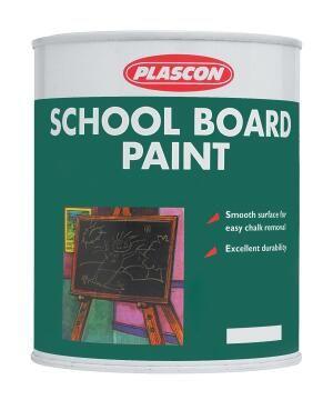 Schoolboard paint black PLASCON 500Mliters