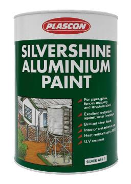Metalcare Silvershine Aluminium Silver PLASCON 5 litres