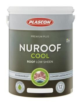 Nuroof cool acrylic roof paint Antique Red PLASCON 5 litres