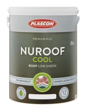 Nuroof cool acrylic roof paint Ashen Sky PLASCON 5 litres