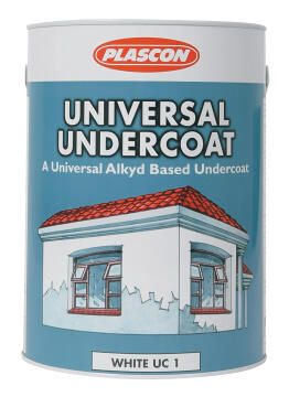 Universal Undercoat white PLASCON 5 litres