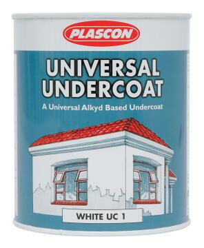 Universal Undercoat white PLASCON 1 litre