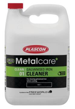 Metalcare galvanised Iron Cleaner PLASCON 2 x 5 litres