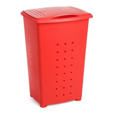 Linen basket 65 l millenium red