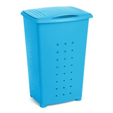 Linen basket 65 l millenium turquoise