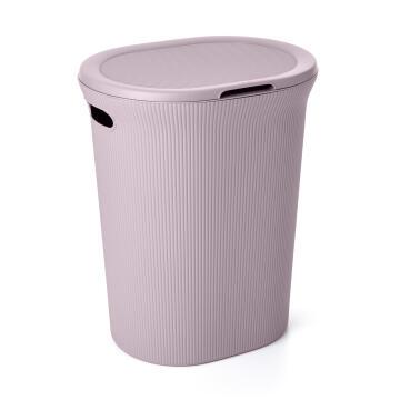Linen basket 40 l baobab lilac