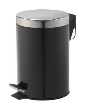Dustbin happy black 3L