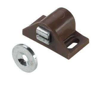Adjustable magnetic catch white hettich