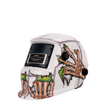 Helmet MATWELD auto dark w/grind blk web