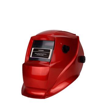 Helmet MATWELD auto dark w/grind white