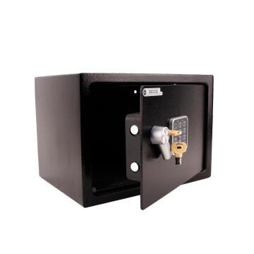 Digital alarmed safety box medium yale