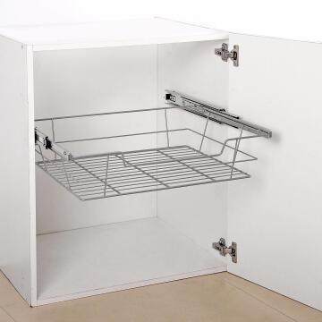 Kitchen sliding wire basket grey 60m