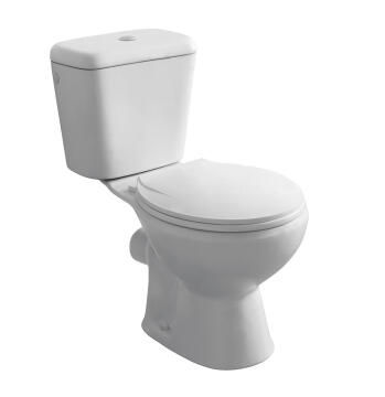 Lowest price toilet close couple white ceramic