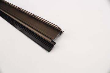 Door seal with rubber strip auto HOME QUIP bronze 915mm Long