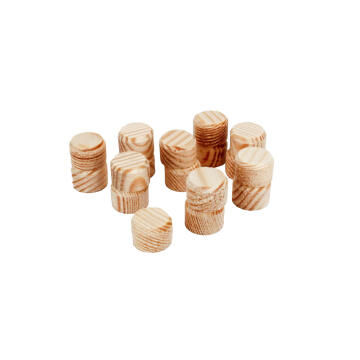 50 wooden plugs WOLFCRAFT ø15mm
