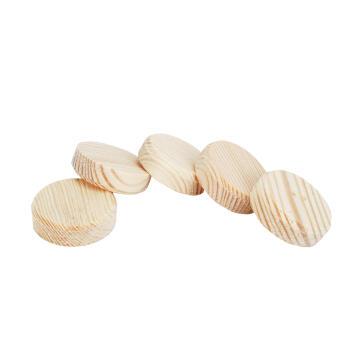 10 wooden plugs WOLFCRAFT ø35mm